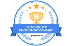 Top Mobile App Development Company by GoodFirms