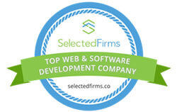 Top Web Development Company by SelectedFirms