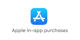 Apple in-app purchases